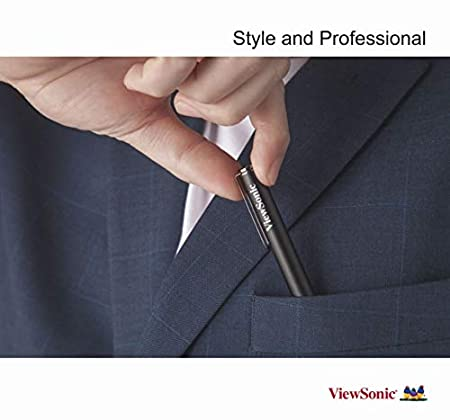 Perfectly Compatible to Surface Pro 6 A Certified Product Low Power Consumption Working 900 Hours with 1 Battery and All Surface Computers ViewSonic ViewStylus Surface Pen ACP301 5,4,Go