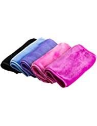 Nugilla Makeup Remover Cloth 5 Pack - Chemical Free,...