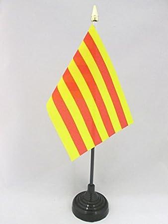 AZ FLAG Bandera de Mesa de CATALUÑA 15x10cm - BANDERINA de ...