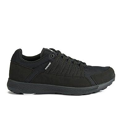 db70f6e50dc Supra Owen Black Black black black Size: 10.5: Amazon.co.uk: Shoes ...