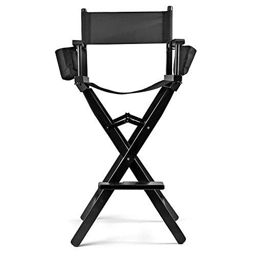 Flexzion Makeup Chair Artist Directors Actor Wood Stool