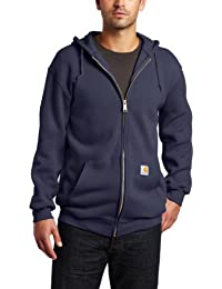 Men's Big & Tall Mid-Weight Zip-Front Original Fit Hoodie...