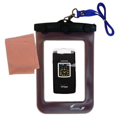 Gomadicアウトドア防水携帯ケースSuitable for the Samsung a990に使用Underwater – keepsデバイスClean and Dry   B0049KUCIC