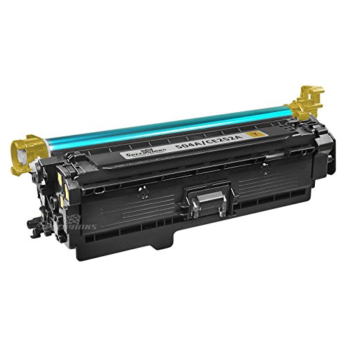 Speedy Inks - Remanufactured Replacement for HP 504A CE252A Yellow Laser Toner Cartridge for use in HP Color LaserJet CP3525dn, CP3525n, CP3525x, CP3525, CP3530, CM3530, CM3530fs