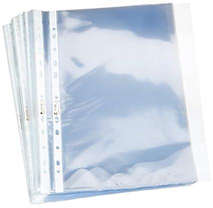 Acco Hetzel Fundas de plástico transparentes para hojas (100 unidades, polipropileno)