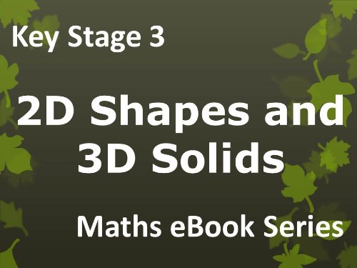 Secondary School KS3 (Key Stage 3) - Maths - Angles, Bearings and Scale Drawings - Ages 11-14 eBook.