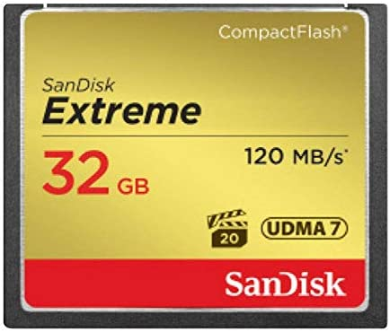 Amazon.com: SanDisk Extreme 32GB CompactFlash Memory Card ...