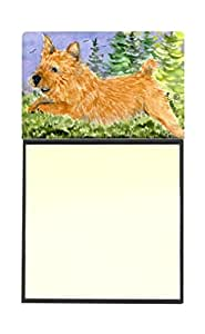"""Caroline's Treasures SS8910SN Norwich Terrier Refillable Sticky Note Holder Or Postit Note Dispenser, 3.25 by 5.5"""", Multicolor"""