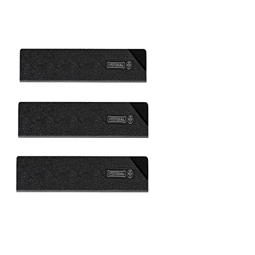 Mundial Knife Blade Guard Set - 3 Pc - Pro Series Lined Guards - 10W x 3