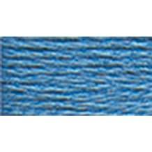 DMC 117-322 Mouline Stranded Cotton Six Strand Embroidery Floss Thread, Dark Baby Blue, 8.7-Yard