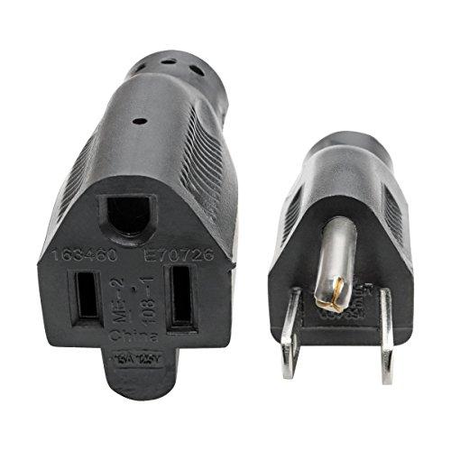 Tripp Lite Heavy-Duty Power Extension Cord 15A, 14AWG (NEMA 5-15P to NEMA 5-15R) 6-ft.(P024-006) by Tripp Lite (Image #2)
