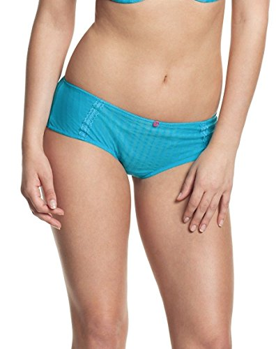 Cleo Women's Maddie Brief Panty, aqua, XX-Large/18