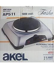 Silver Turkish Range Cooktop - 1000 Watts