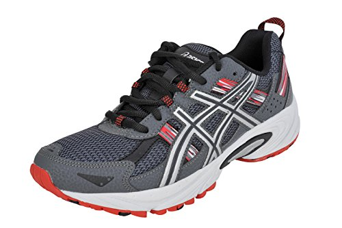 6ac56ceb284 Galleon - ASICS Men's Gel-Venture 5 Running Shoe (11 D(M) US, Castle  Rock/Silver/Fiery Red)