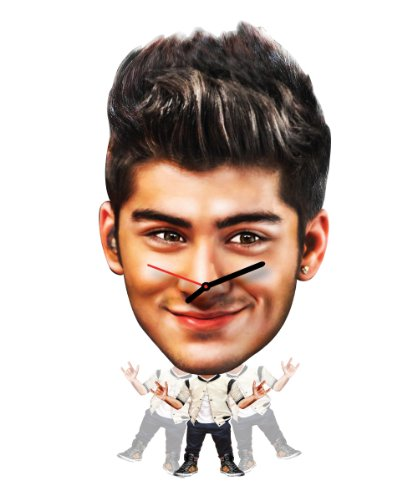 Zayn Malik 1D One Direction BEST SONG EVER Wall Clock Clocks Way Or