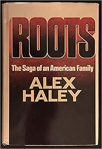 ROOTS Alex Haley 1976: Haley, Alex: Amazon.com: Books