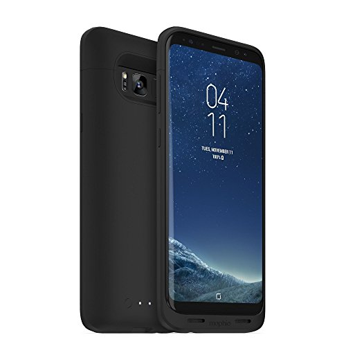 Click to buy mophie Juice Pack Battery Case – Samsung Galaxy S8 Plus – 3,300 mAh Built-In Battery – Universal Wireless Charging – Black - From only $49.95
