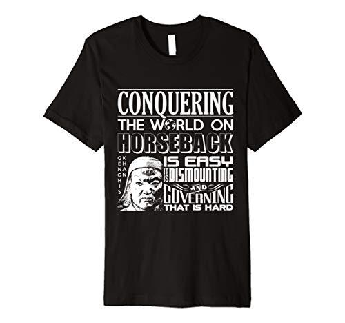 Calvin Mira T Shirt xl Genghis Khan t shirt -
