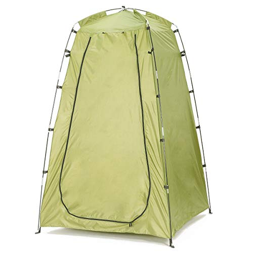 Nrthtri smt Portable Outdoor Fishing Tent Camping Shower Bathroom Toilet Changing Room Easy to Carry