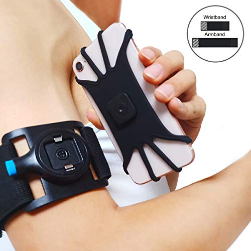 (Running Armband&Wristband, Sports Armband for iPhone XS/iPhone XS Max/iPhone XR iPhone X/8 Plus/8/7/6s, Galaxy S9 Plus/S9/S8/S7/Note 9 & Other 4.4