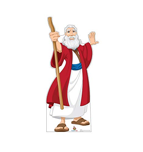 Advanced Graphics Moses Life Size Cardboard Cutout Standup - Creative for -