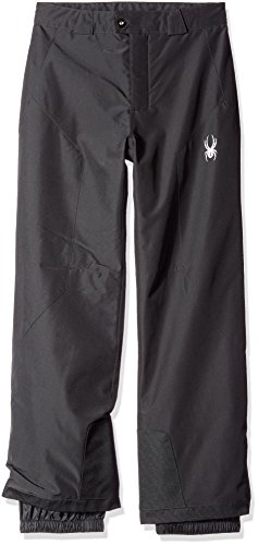 Spyder Boys Siege Pants, Medium, Black by Spyder