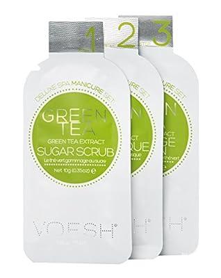 Voesh Mani in a Box 3 Step Service in Green Tea Detox