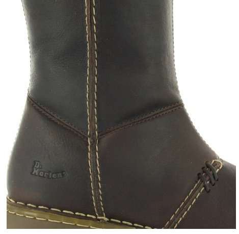 dc2e483b6d672 Dr.Martens New Auth Wedge Zip Calf Bark Womens Boots Size 5 UK: Amazon.co.uk:  Shoes & Bags