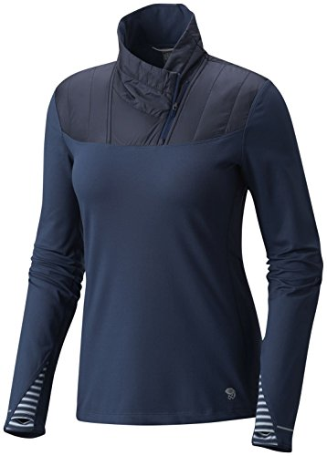 Mountain Hardwear Women's 32¿ Insulated 1/2 Zip Zinc Medium