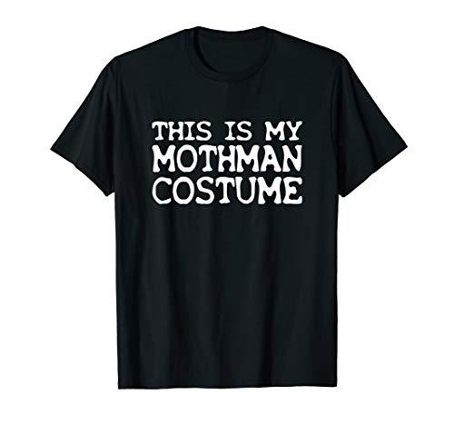 This Is My Mothman Costume Funny Halloween T-Shirt ()