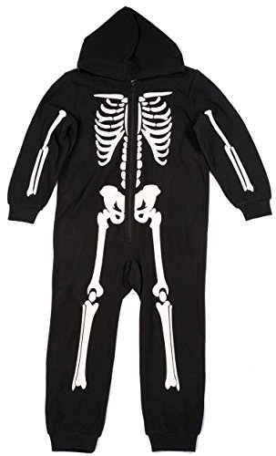 #followme Skeleton Boys Jumpsuit Pajamas 6542-2T
