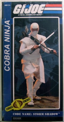 Sideshow Collectibles Storm Shadow 12 Inch Deluxe Collector Figure