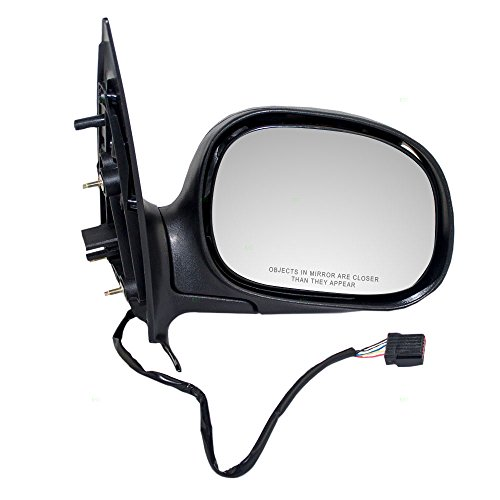 Passengers Power Side View Mirror Heated Replacement for Ford Expedition SUV F85Z 17682 HAC AutoAndArt