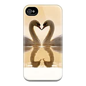 For Iphone Cases, High Quality Loving Swans For Iphone 5/5s Covers Cases