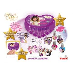 Simba - Violetta 7731494 Set de uñas con secador