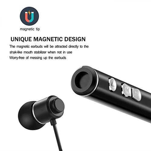 Bluetooth Headphones, Rienar 850 Ultra-Light Wireless V4 1 Neckband  Sweatproof Sports Magnetic Earbuds Stereo Bluetooth Headset/Earphones With  5hrs