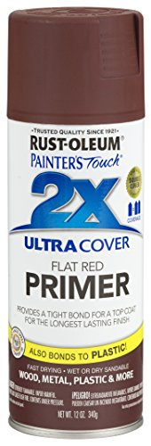 (Rust-Oleum 249086-6 PK Painter's Touch 2X Ultra Cover, 12 oz, Red Primer)