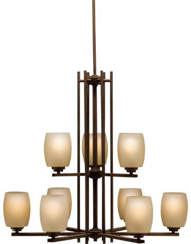 Kichler 1897OZ Eileen Chandelier 9-Light, Olde Bronze -