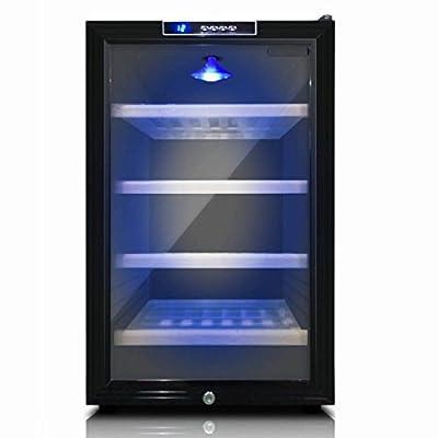 Compressor Cooling Mini Wine Refrigerator | Small Beer Cooler | KingsBottle 18 Bottle Storage Free Standing Compatible Wine Fridge - KBU68WBP