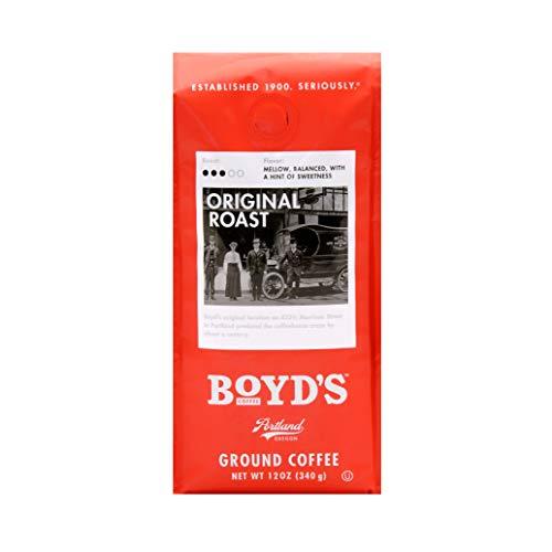 Boyd's Original Roast Coffee - Ground Medium Roast - 12-Oz Bag from Boyd's Coffee