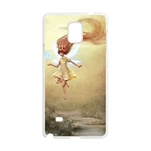 Samsung Galaxy Note 4 Cell Phone Case White Child of Light OJ408987