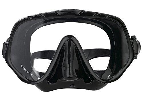 OMID Diving Mask, Adult Low Volume Frameless Masks for Snorkel & Scuba Dive - Low Volume Mask