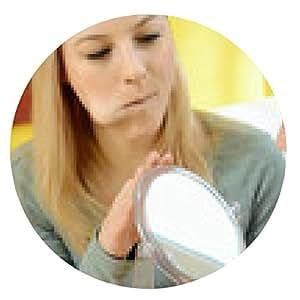 alfombrilla de ratón Ejercicios para la boca y la lengua en la terapia del habla - ronda - 20cm