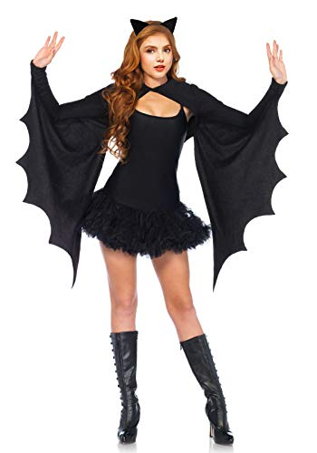 Bat Shrug Costume and Headband Halloween Shrugs for Women Black Bat Wing Shrug for $<!--$27.99-->