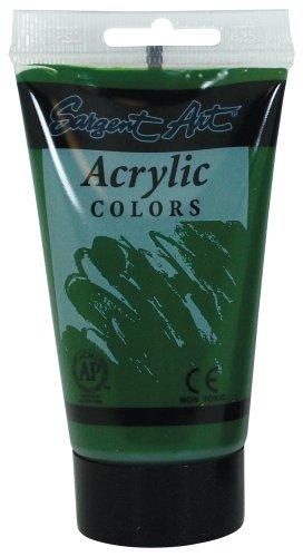 Acrylic Green Paint Dark - Sargent Art 23-0272 75Ml Tube Acrylic Paint, Dark Green