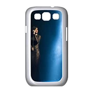 Cute TPU Case Rihanna In Concert Samsung Galaxy S3 9300 Cell Phone Case White