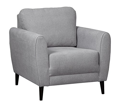 (Ashley Furniture Signature Design - Cardello Contemporary Accent Chair - Pewter)