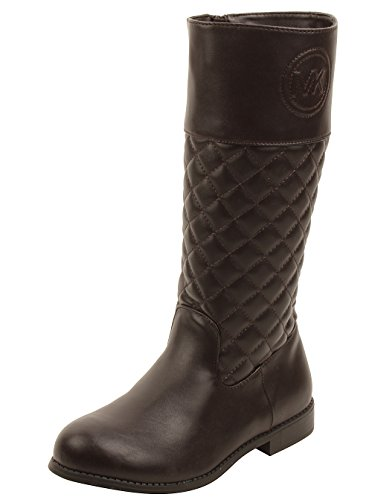 MICHAEL Michael Kors Kids Emma Vera Boots in Brown 3 W - Mk For Boots Kids