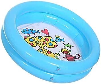 TEFIRE Piscina Hinchable para Bebés Piscinas Desmontables Piscinas Circular 65 x 16 cm Pequeña Piscina para Niños(Azul): Amazon.es: Jardín