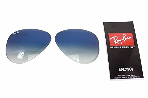 Ray Ban RB3025 3025 RayBan Sunglasses Replacement Lenses Light Blue Grad Size-58